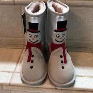 Emu Snowman ⛄️ Boots 100%Merino wool lining NWT